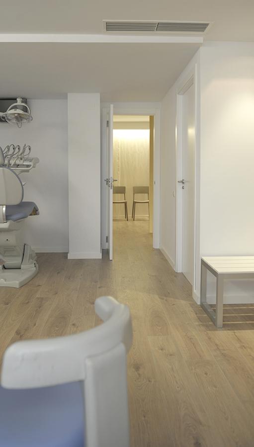 Clinica dental_detalle comunicacion espacios