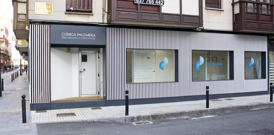 Clínica Fisioterapia Palomera - Fachada Larga