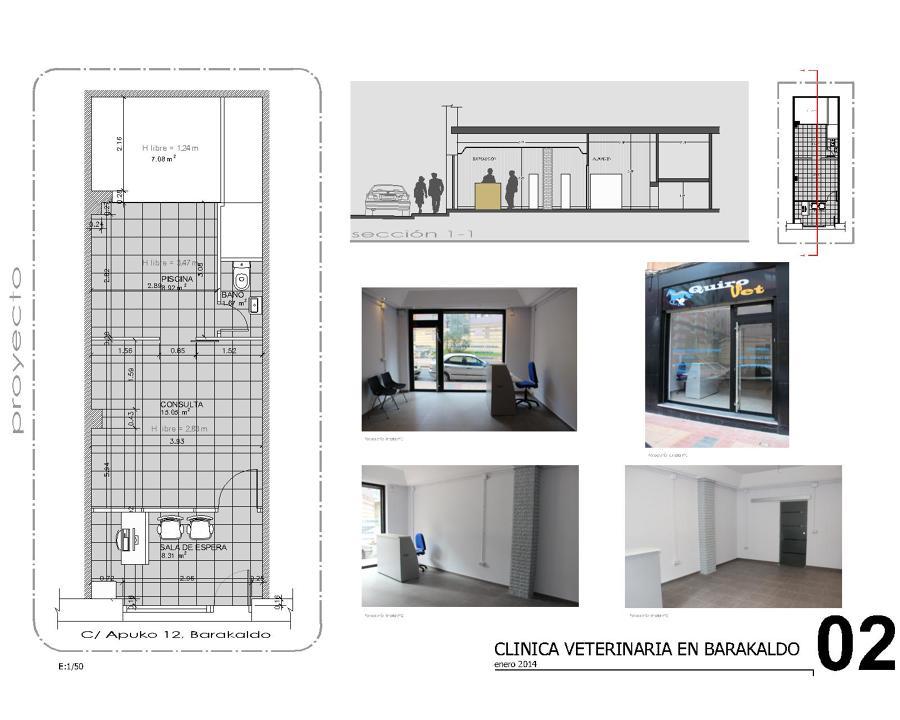 Clinica veterinaria en barakaldo ideas arquitectos - Proyecto clinica veterinaria ...