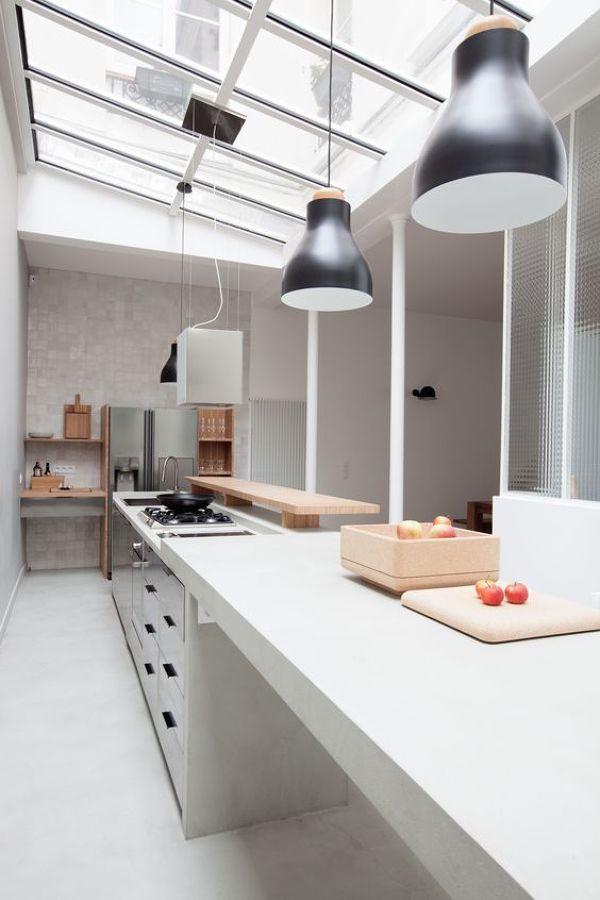 C mo sobrevivir a una cocina estrecha ideas reformas cocinas - Cocinas estrechas ...