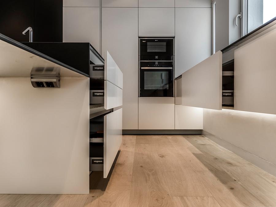 Piso ma13 madrid una elegante vivienda de 200m ideas reformas viviendas - Pisos para una persona madrid ...