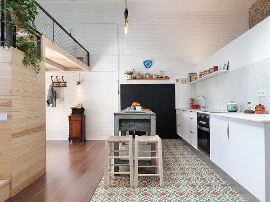 Foto cocina a doble altura de miv interiores 1412040 - Deco hogar ourense ...