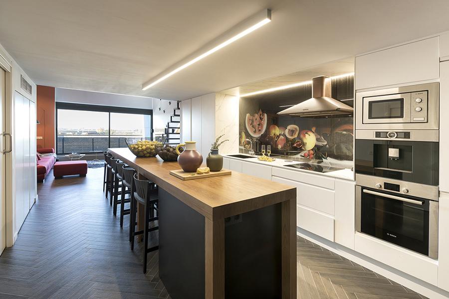Asombroso Cocina A Medida Fotos - Ideas de Decoración de Cocina ...