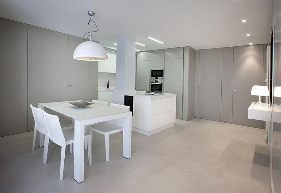Foto cocina abierta de boceto 903756 habitissimo - Boceto interiorismo ...