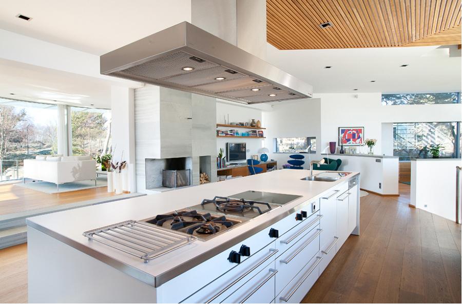 Foto cocina abierta al sal n de marta 1024785 habitissimo for Unir cocina y salon