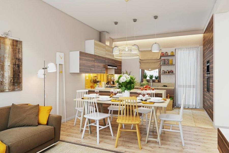 10 veces que nos enamoramos de las cocinas abiertas for Cocina y salon abierto