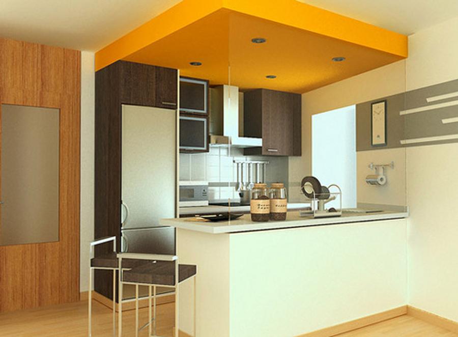 C mo aprovechar tu cocina americana ideas mantenimiento for Modelos de cocinas americanas en espacios pequenos