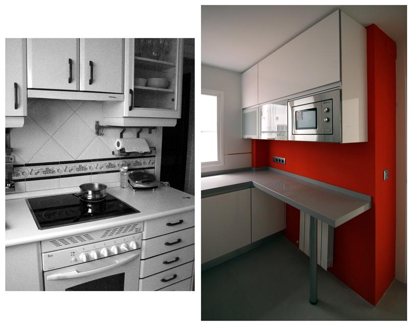 Foto cocina antes y despu s de la reina obrera 261112 for Cocinas antes y despues