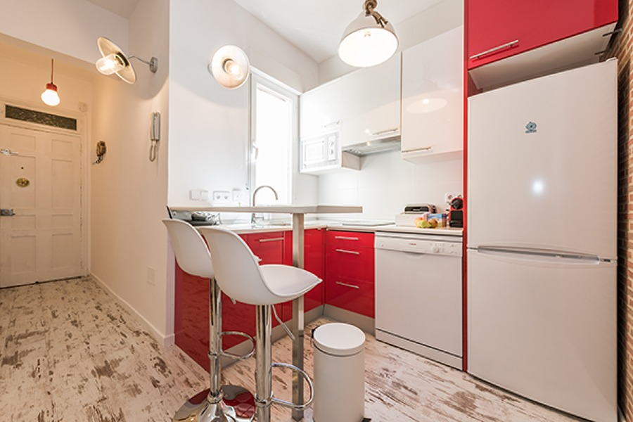 Foto cocina barra americana de boho chic 879440 for Comprar cocinas en madrid