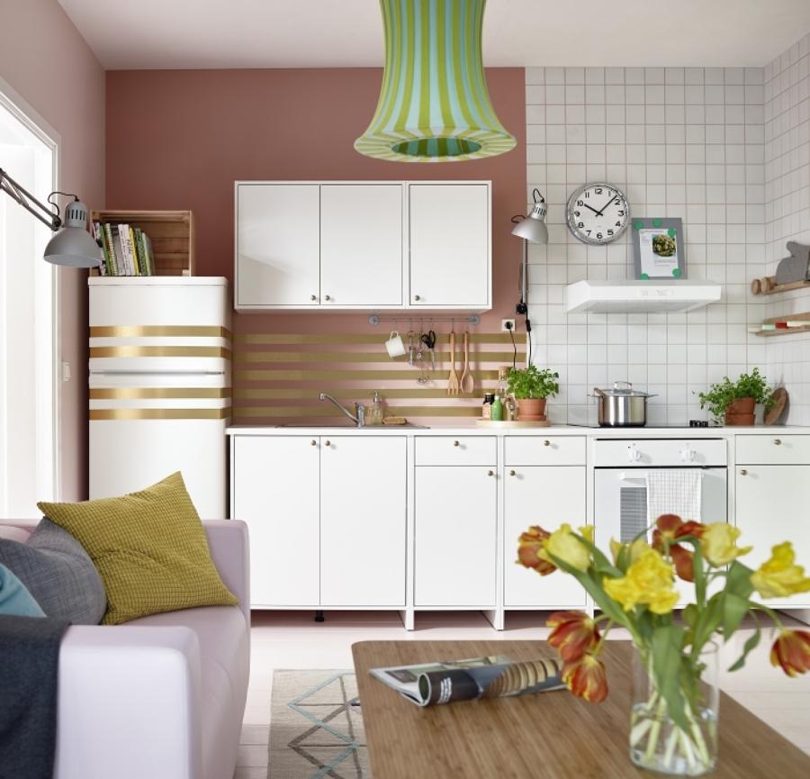 Descubre las tendencias en cocinas para 2016 seg n el cat logo de ikea ideas decoradores - Muebles de cocina en kit ikea ...