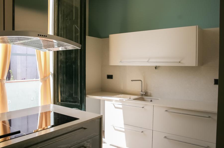 Cocina casa modernista