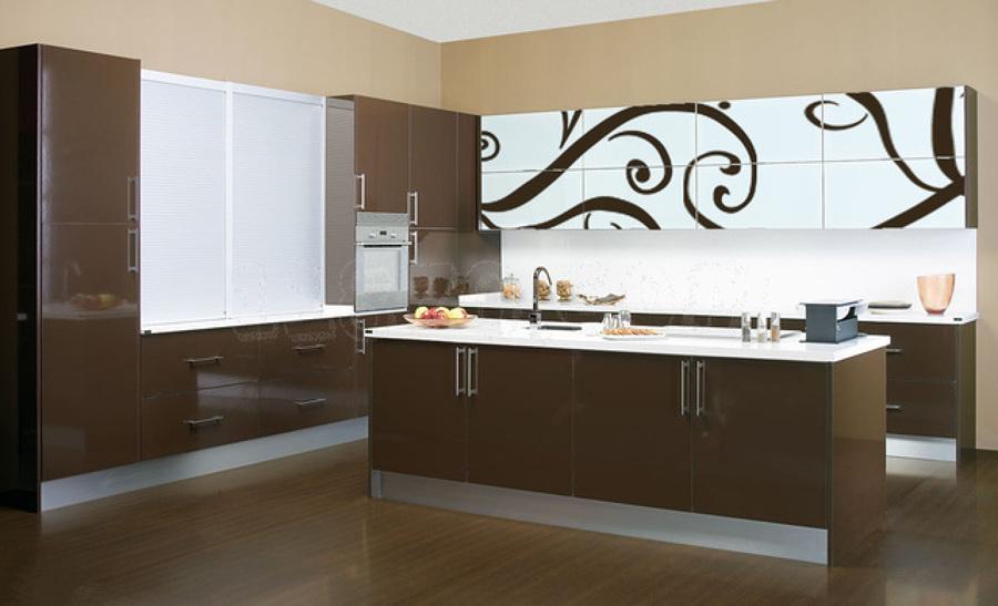 Ideas de decoraci n de cocinas en color chocolate ideas - Cocinas de color ...