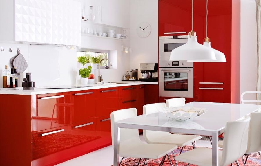 Cocinas Rojas para Cocinar con Pasión | Ideas Decoradores