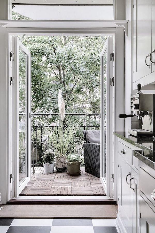 Foto cocina con balc n de miv interiores 1310123 habitissimo - Miv interiores ...