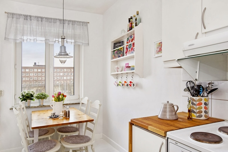 Soluciones pr cticas para comedores peque os ideas for Comedor y cocina en un mismo ambiente