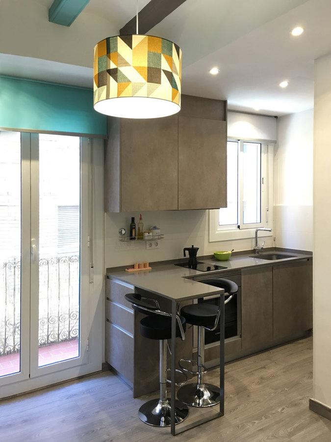 Foto cocina con isleta de am arquitectura dise o 1414116 for Disenador de cocinas gratis