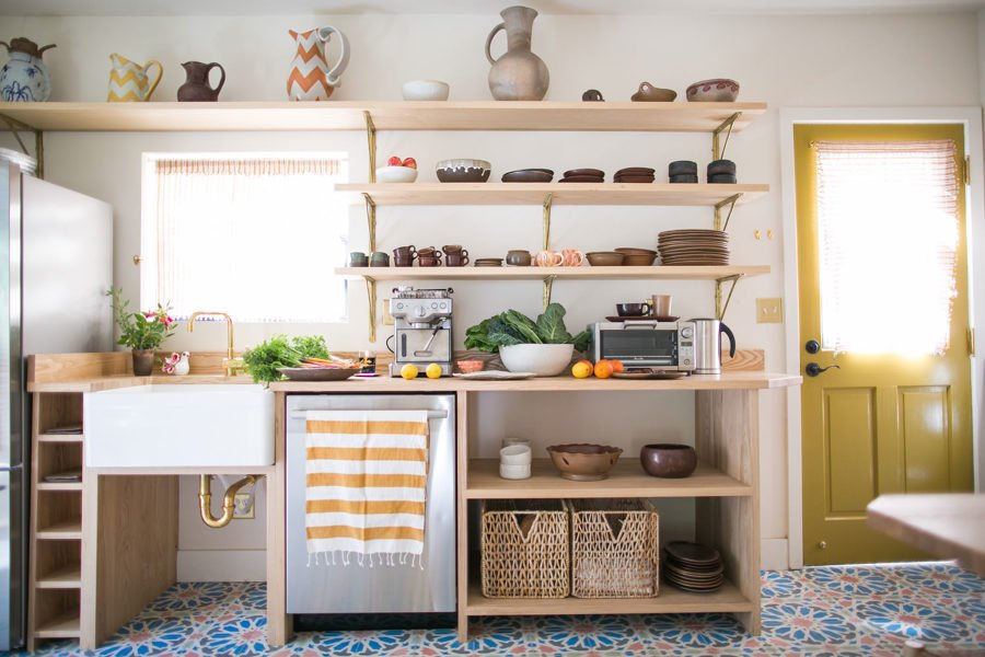 7 claves para conseguir una cocina con muebles a la vista for Electrodomesticos vintage baratos