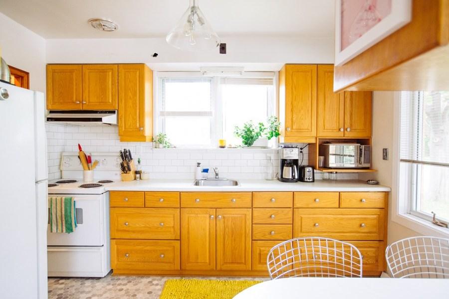 El sorprendente antes y despu s de 5 cocinas ideas - Renovar muebles de cocina ...