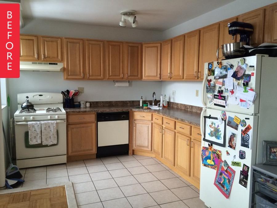 El notable antes y despu s de 5 cocinas iv ideas for Como distribuir los muebles de cocina