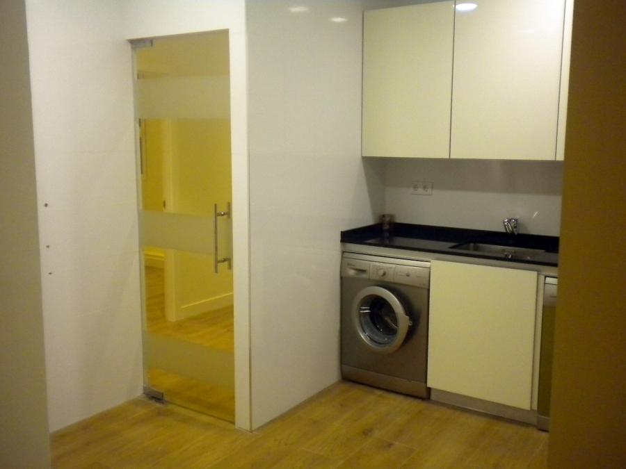 Foto cocina con puerta de cristal de marpe marcos - Cocinas con puertas de cristal ...