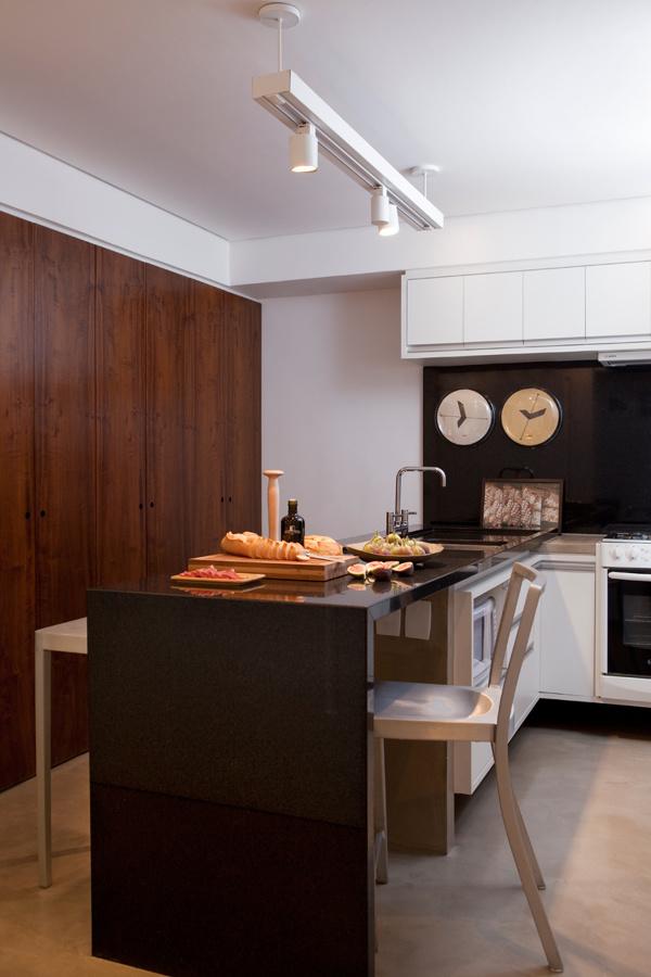 cocina cuarzo negro