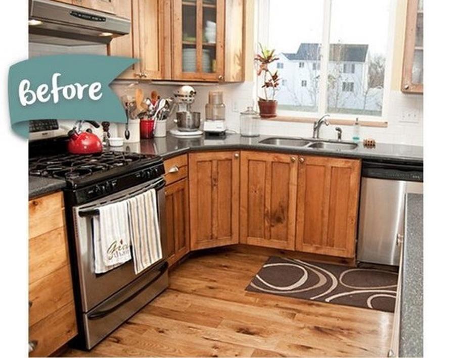 El Increíble antes y Después de 5 Cocinas sin Obras | Ideas Reformas ...