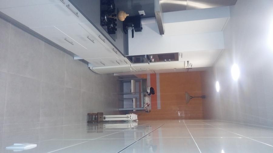 Reforma integral de cocina y lavadero en blanes ideas for Muebles blanes