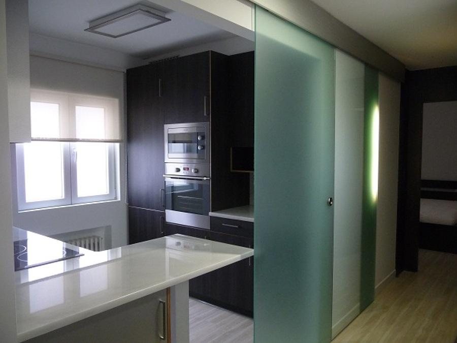 Antes y despu s reforma integral de piso de 60 m2 ideas for Reformas de pisos antiguos