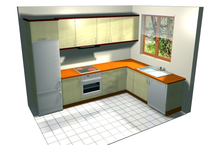cocina dibujada