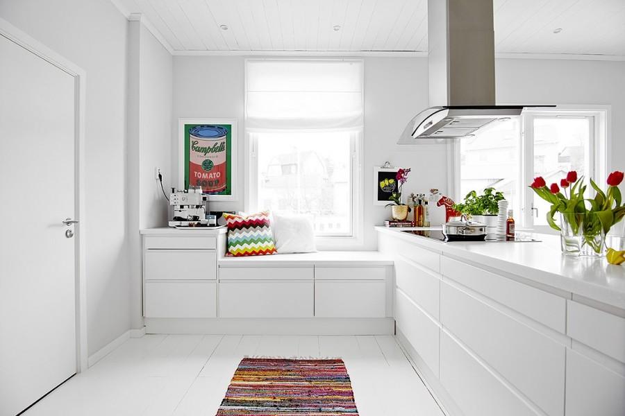 Descubre las ventajas de las cocinas sin tiradores ideas - Cocinas en color blanco ...
