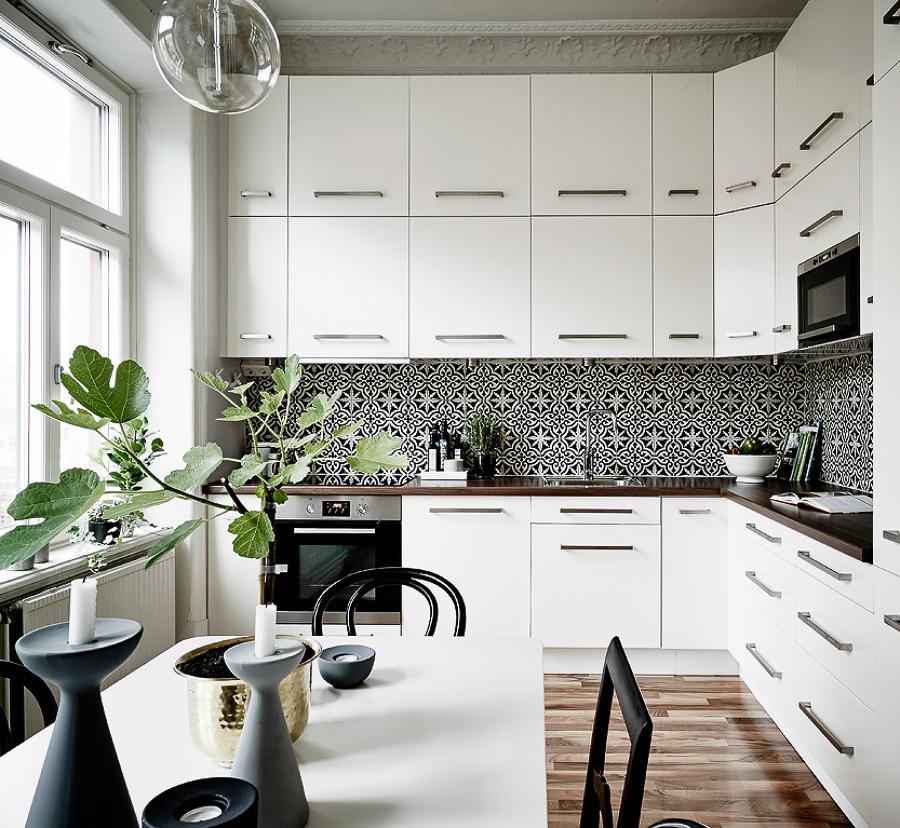 Foto cocina en esquina de miv interiores 1334221 habitissimo - Miv interiores ...