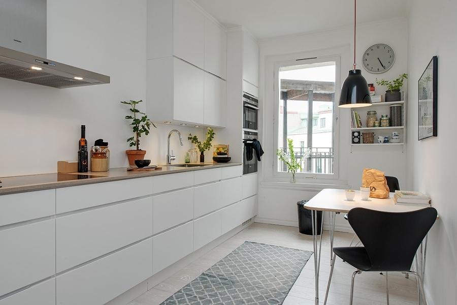 Foto cocina en l nea estilo n rdico de miriam mart for Cocinas integrales en linea