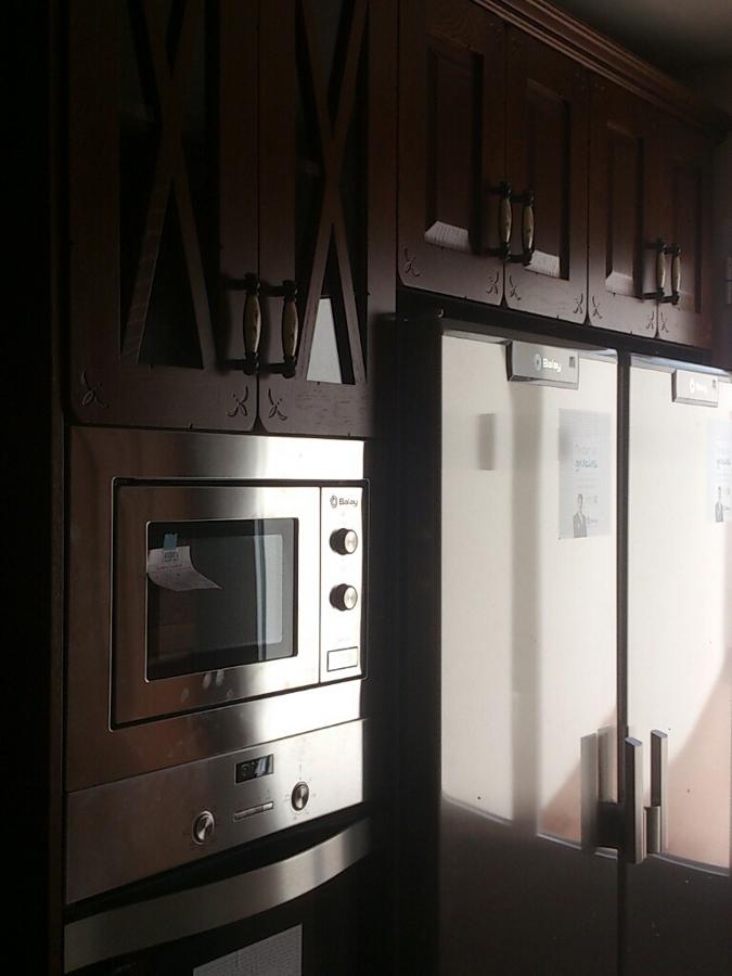 Cocina en madera a medida modelo 6 ideas carpinteros - Madera a medida ...