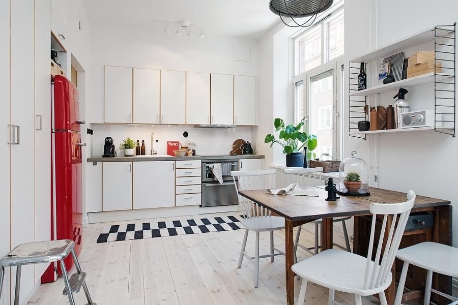 Foto cocina estilo n rdico de boho chic 841228 habitissimo - Cocinas estilo nordico ...