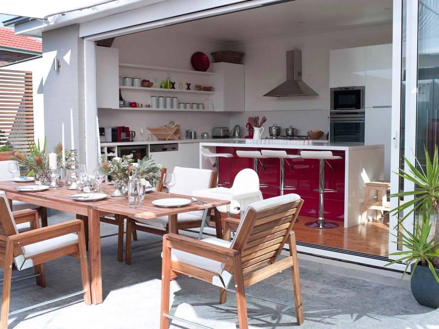 Cocinas abiertas al exterior cu l es tu favorita ideas - Cocinas exteriores modernas ...