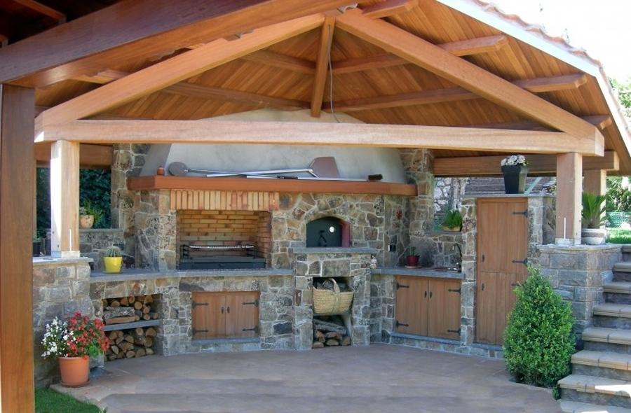 Cocinas abiertas al exterior cu l es tu favorita ideas for Ideas para hacer un techo en el patio