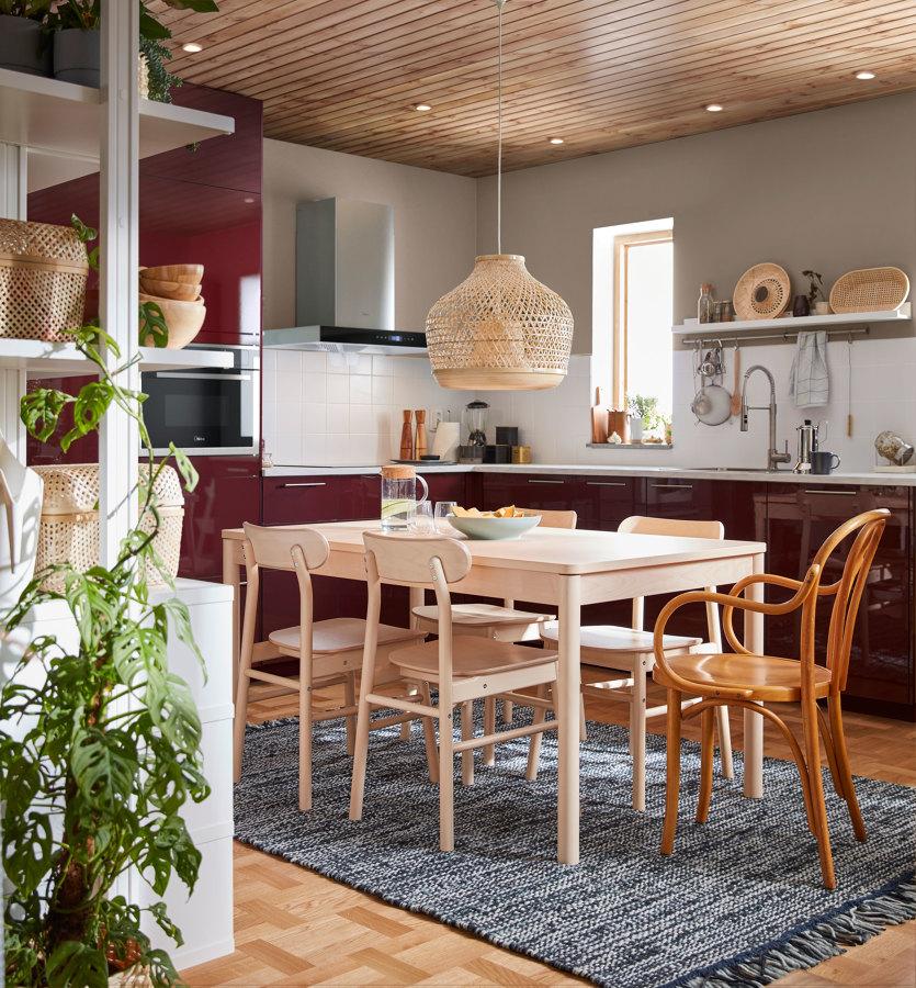 Cocina frente lacado rojo nuevo catálogo IKEA 21.