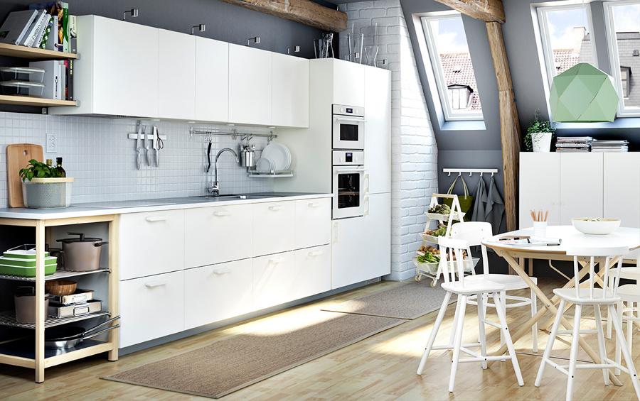 Foto cocina funcional ikea de marta 967195 habitissimo - Cocinas de ikea fotos ...