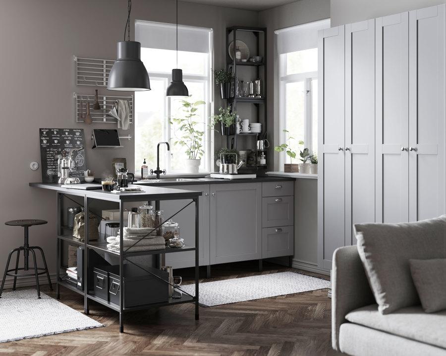 Cocina gris nuevo catálogo IKEA 20.