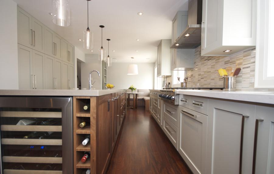 Foto cocina gris y blanca de elenatorrente d az 985453 for Elemento de cocina gris