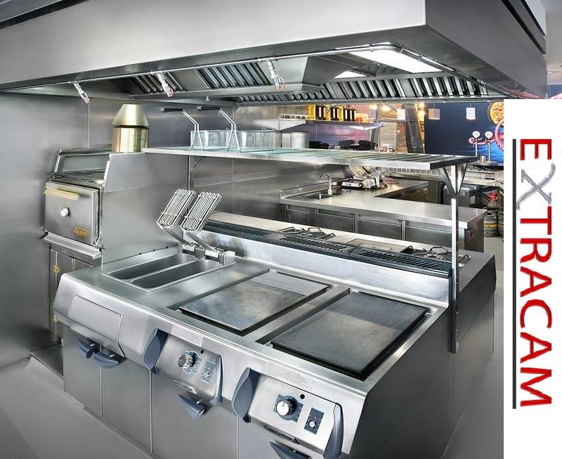 Extracci n de humos en barcelona ideas reformas cocinas for Presupuesto cocina industrial