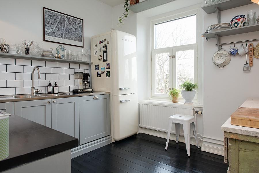 Cocina inspiración escandinava