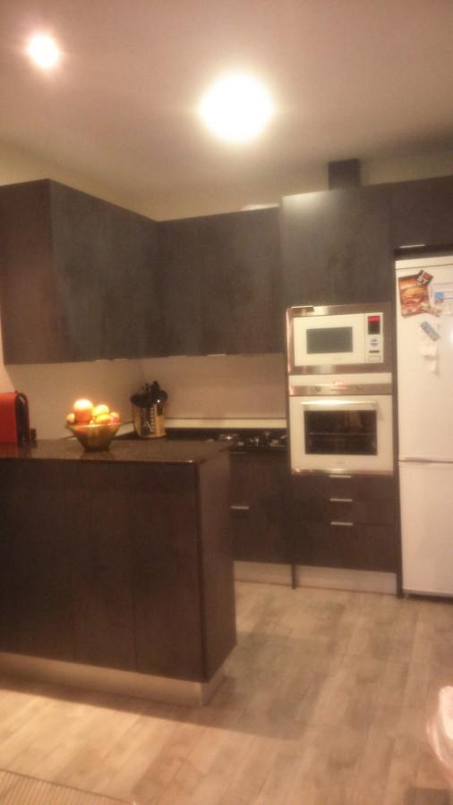Cocina integrada en salon