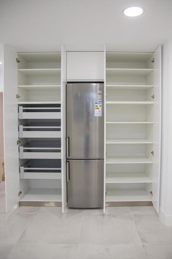 Cocina. Interior armarios