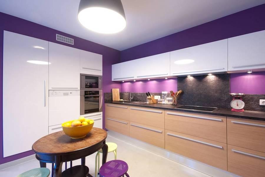 cocina lila