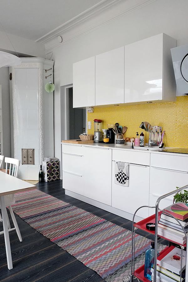 Foto cocina lineal de miv interiores 1440668 habitissimo - Miv interiores ...