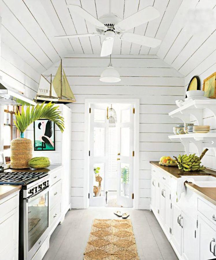 Foto: Cocina Madera Blanca de Miv Interiores #1218231 - Habitissimo