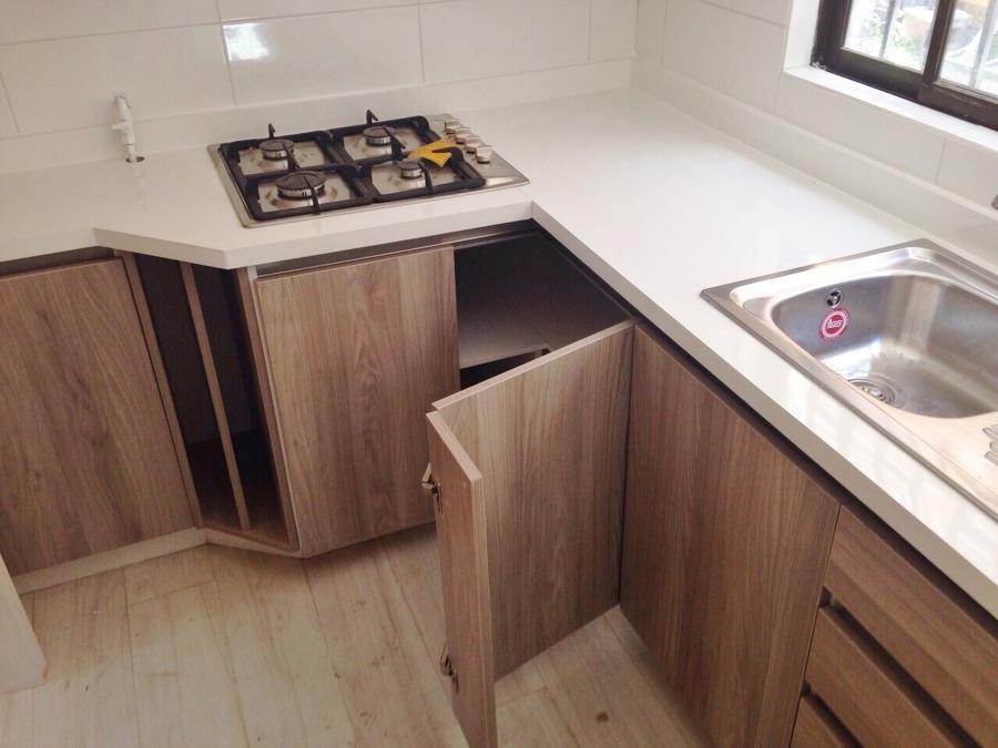 Foto cocina madera clara 3 de cocinas armarios 766474 - Cocinas madera clara ...