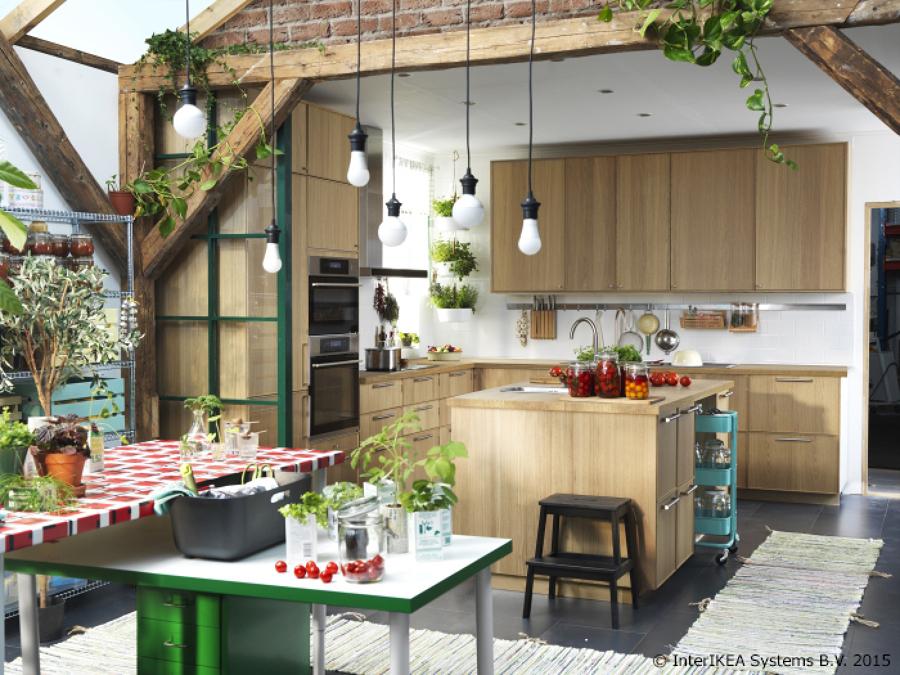 Foto: cocina madera ikea de miriam martí #929303   habitissimo