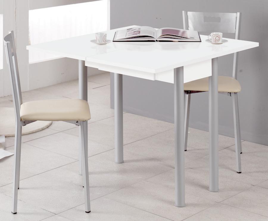Consejos para elegir la mesa de la cocina ideas for Mesas de cocina blancas